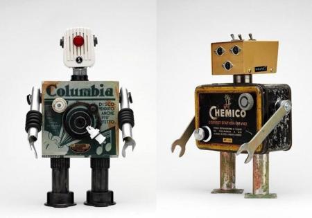 Pitarque, divertidos robots personalizados