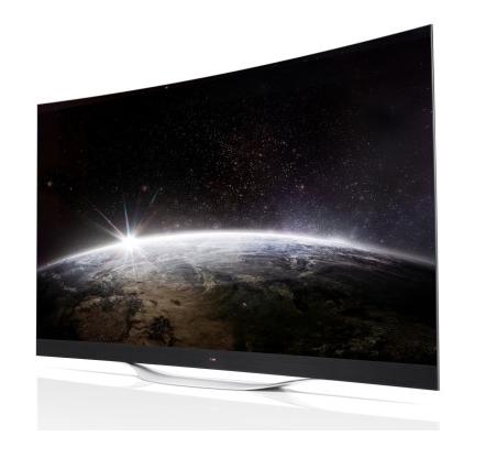 LG OLED 4K curvo