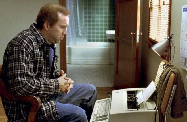 Nicolas Cage en una escena de la película