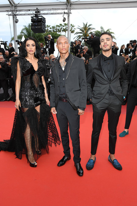 Jeremy Meeks Viste Un Agresivo Look De Aires Punk En La Apertura Del Festival De Cine De Cannes 2