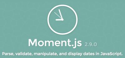 Gestionando fechas con Moment.js