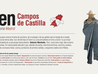 Tras los pasos de Machado con el Tren Campos de Castilla