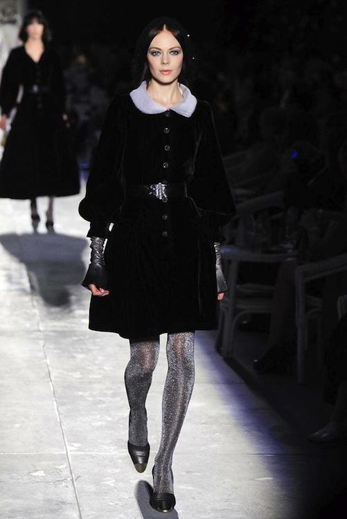 Foto de Chanel Alta Costura Otoño-Invierno 2012/2013: rosa, gris, brillos y nuevo vintage (27/61)