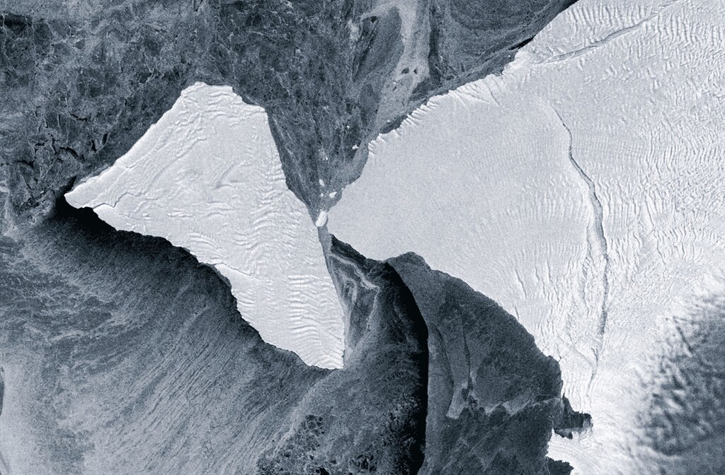 Así ha rozado un iceberg de 1.270 km2 las costas de la Antártida: en su aventura, casi hace añicos la plataforma de hielo Brunt