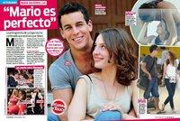 María Valverde jugando a las obviedades: 'Mario es perfecto'