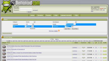 Demonoid ha sido cerrado por las autoridades ucranianas
