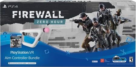 PlayStation 4 Aim Controller para PlayStation Vr con Firewall Zero Hour