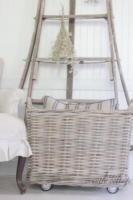 Añade unas cestas a tu hogar para lograr un