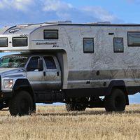La madre de todas las caravanas de aventura se llama Earthromer XV-HD, y es tuya por 1,5 millones