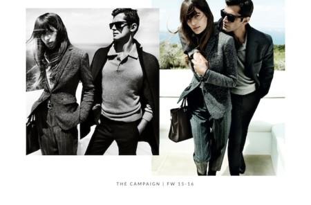 La pareja de moda la protagoniza Sean O'Pry y Cameron Russell mientras se visten de Massimo Dutti