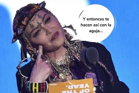 Madonna se tatúa por primera vez a los 62 años (y no, su tatuaje no es nada sorprendente)
