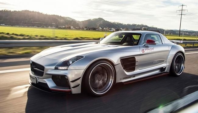 Prior design mercedes benz sls amg pd900gt una vuelta de for Mercedes benz in alabama