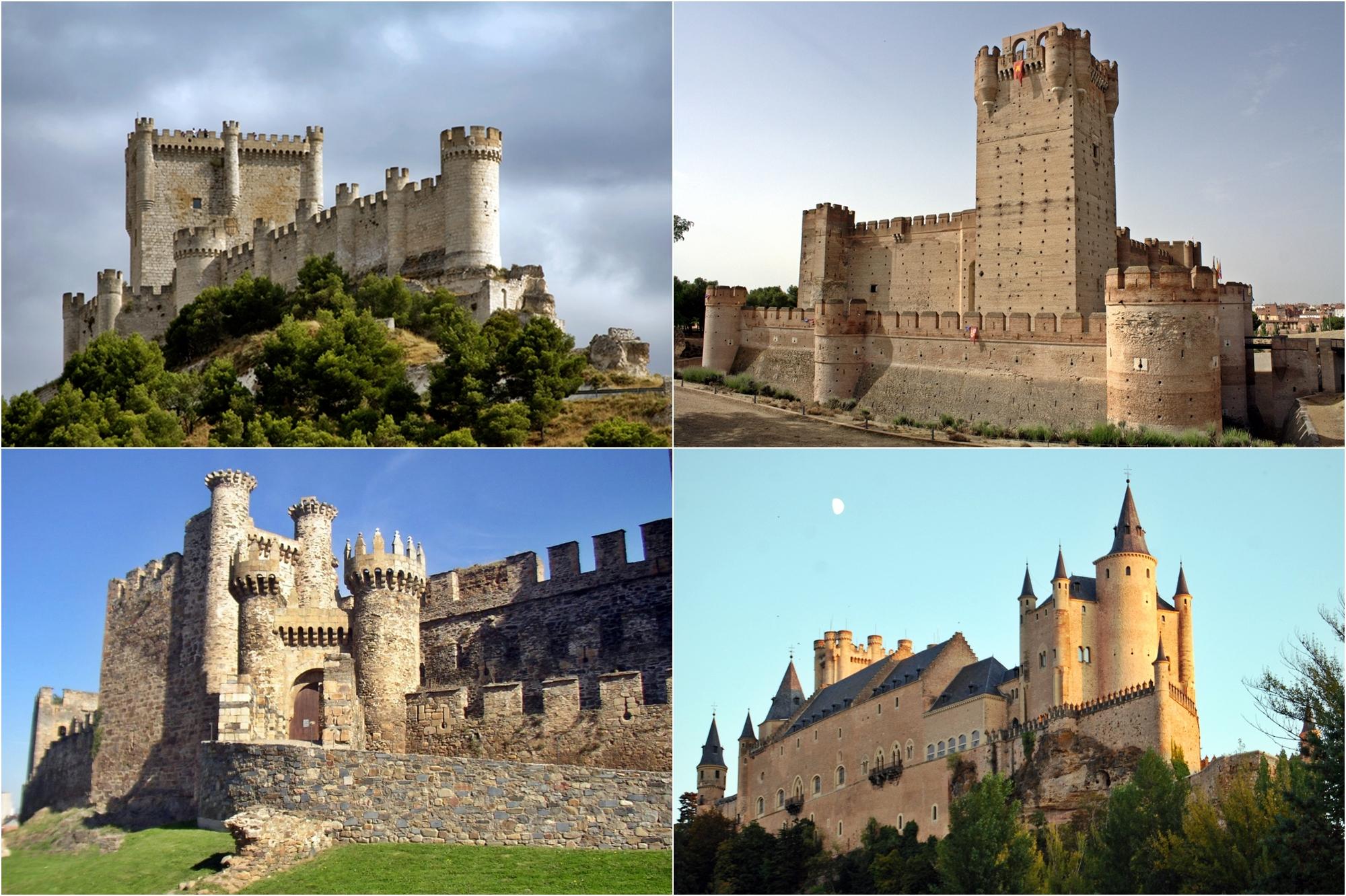 Los ocho mejores castillos de castilla le n recogidos en for Oficina turismo castilla y leon