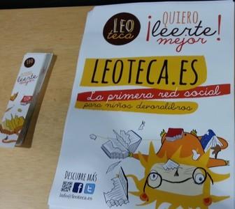 Leoteca.es es una página en Internet que impulsa la lectura de libros entre los más pequeños