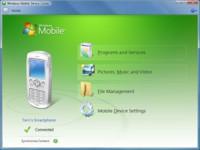 Windows Mobile Device Center 6.1 para Windows Vista