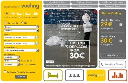 Vuelos a partir de 30 euros en Vueling