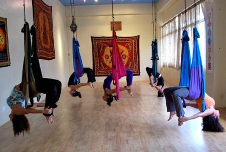 Yoga Aérea: una variante más a la clásica disciplina