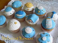 Cupcakes como regalo de nacimiento o de bautizo