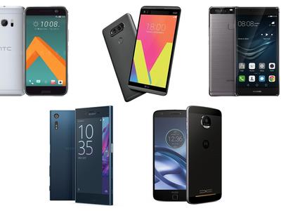 Tras la muerte del Galaxy Note 7: 5 rivales que podrían ocupar su lugar