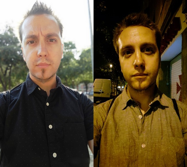 Selfie Comparativa