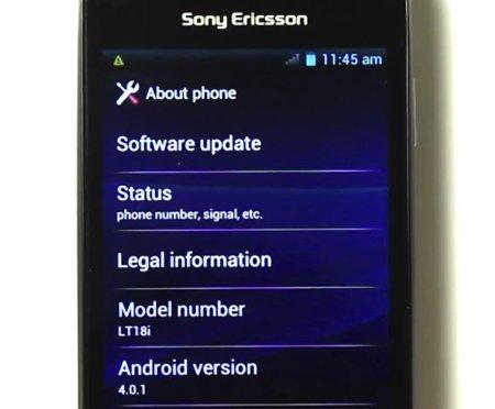 Sony Ericsson nos muestra sus progresos con Ice Cream Sandwich