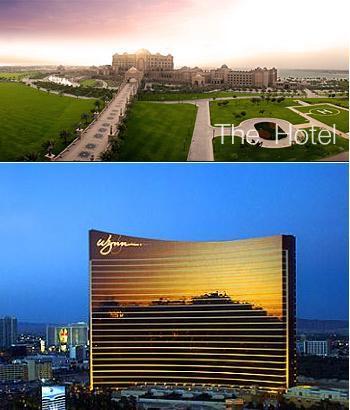 Emirates Palace y el Wynn Las Vegas