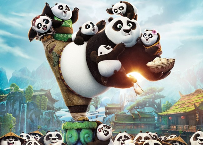 Cartel Kung Fu Panda 3