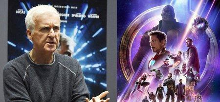 James Cameron espera que nos cansemos pronto de los Vengadores y Marvel responde de la mejor forma posible