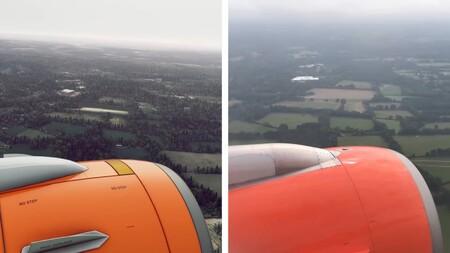 ¿Vida real o videojuego? Este es el vídeo que pone a prueba los gráficos de Microsoft Flight Simulator en pleno vuelo