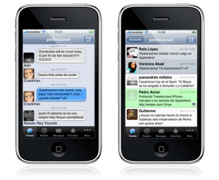 Tweetie, el cliente de Twitter perfecto (por ahora) para iPhone / iPod touch