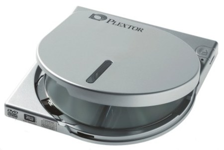 Plextor PX-608CU, una grabadora DVD realmente pequeña
