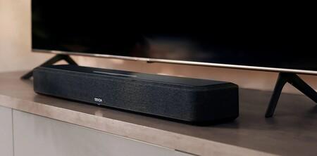 Denon presenta la Home Sound Bar 550, una barra de sonido compacta y a la última ampliable añadiendo más altavoces inalámbricos