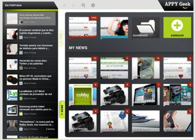 Más aplicaciones para estar informado, Appy Geek