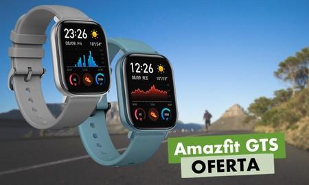 Llévate un smartwatch como el Amazfit GTS a su precio más bajo hasta la fecha en Amazon: ahora por menos de 100 euros y con 20 euros de descuento