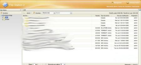 Synology File Station
