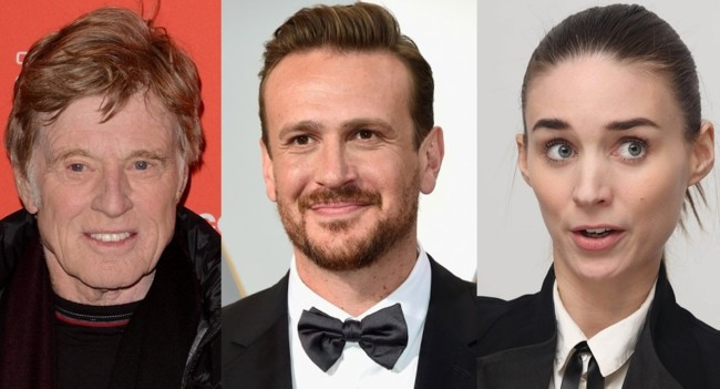 Robert Redford Jason Segel Rooney Mara