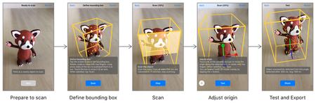 Escáner de objetos 3D con ARKit