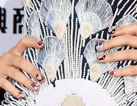 Uñas de Sushi de Katy Perry