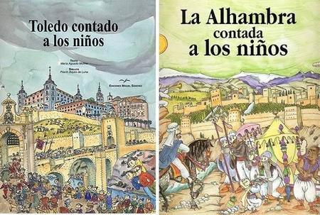Ciudades y monumentos de España contados a los niños: libros ilustrados para pequeños viajeros