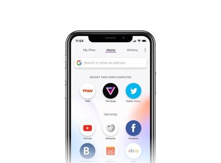 Opera Touch, un nuevo navegador para iOS optimizado para los que aman las pantallas pequeñas