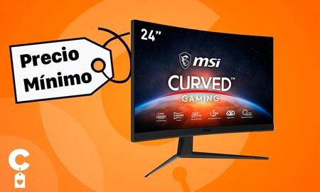 Precio mínimo para el monitor gaming MSI MAG Artymis 242C en Amazon: estrena pantalla curva por 249 euros