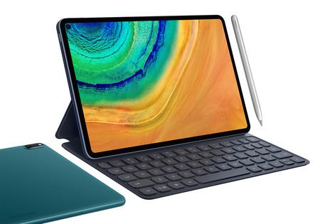 Huawei MatePad Pro: la nueva tablet de gama alta de Huawei llega con pantalla perforada y carga inalámbrica inversa