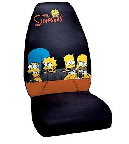 Funda Simpson para el asiento del coche