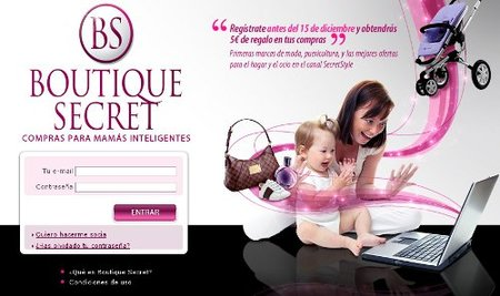Boutique Secret, club de ventas online