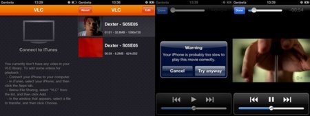 VLC Media Player para iPhone