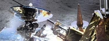 Estas son las fotos panorámicas de la cara oculta de la Luna tomadas por Chang´e 4