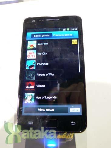 Foto de Samsung Galaxy S II en el MWC (3/9)