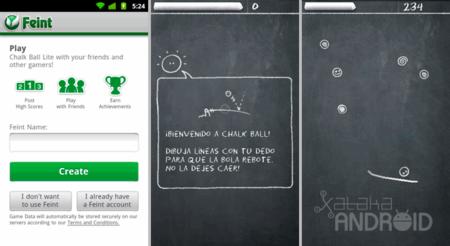 Chalk Ball, un juego de pizarras
