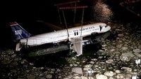 """El avión del """"milagro del Hudson"""" se exhibirá en un museo en Carolina del Norte"""