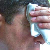 ¿Es el sudor un síntoma de estar en baja forma?